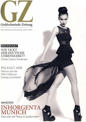 goldschmiedezeitung februar 2013 glanz und gloria by beatrice m ller. Black Bedroom Furniture Sets. Home Design Ideas