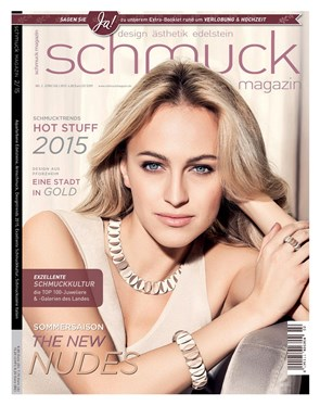 schmuck magazin 02 2015 glanz und gloria by beatrice m ller. Black Bedroom Furniture Sets. Home Design Ideas
